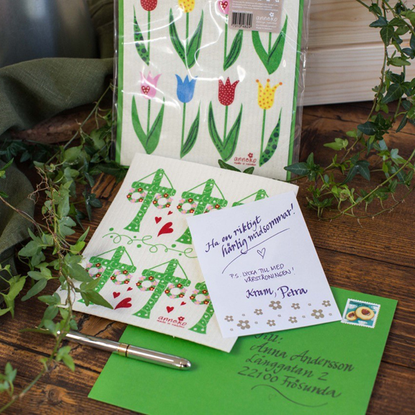 Anneko Dish cloth card