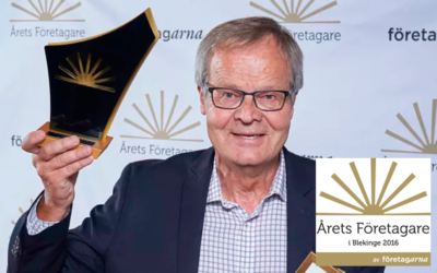Nisse did it again – Entrepreneur of the Year!