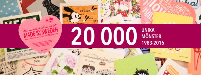 20 000 mönster