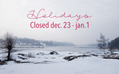 Holidays Dec.23 – Jan.1