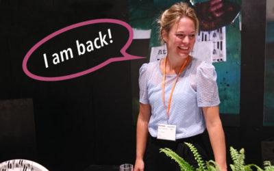 Välkommen tillbaka Anna!