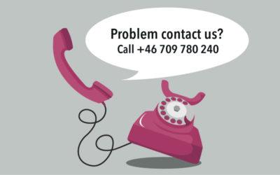 Problem calling us? – Call 0709 780 240