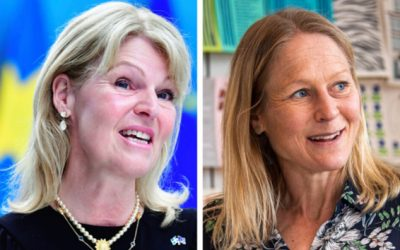 Johanna mötte Sveriges utrikeshandelsminister!